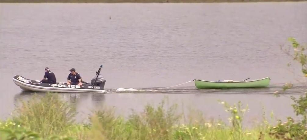 Alan Solomon's canoe was recovered on Thursday morning.