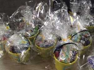 YellowBridge donates 227 buckets of joy
