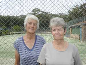 WHAT A RACQUET: Are we upset with council? Yes we are