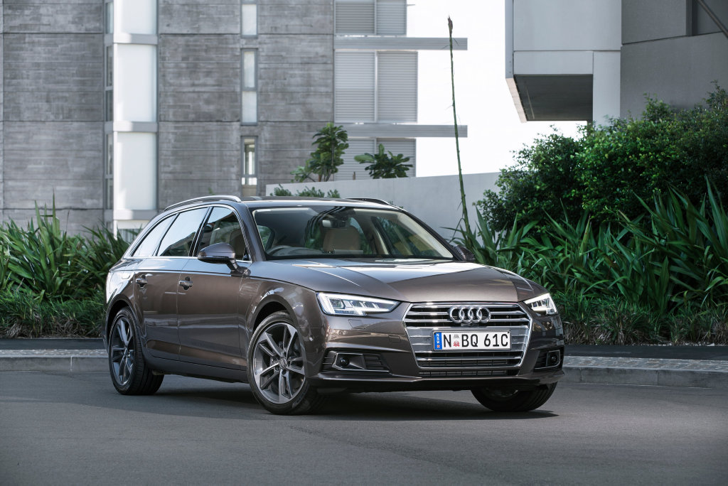 ALL-ROUNDER AVANT: The Audi A4 Avant is good enough for champion surfer Mick Fanning, so who are we to argue?