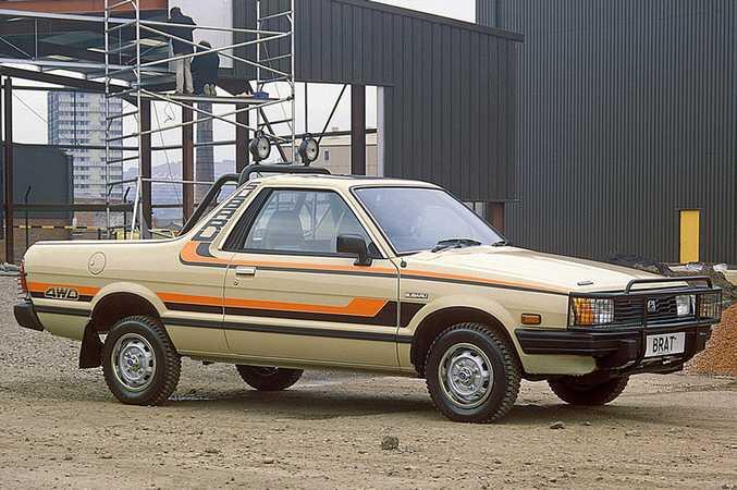 Subaru Brumby.