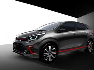Kia shows off its new Picanto city car