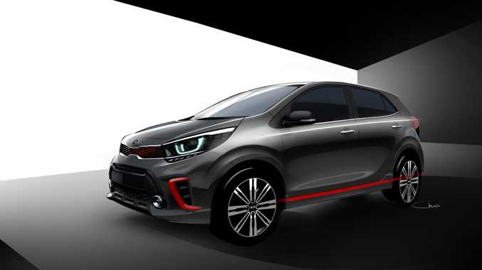 FRESHER FACE: Kia has updated the design for its smallest Picanto offering ahead of its official reveal early in 2017.