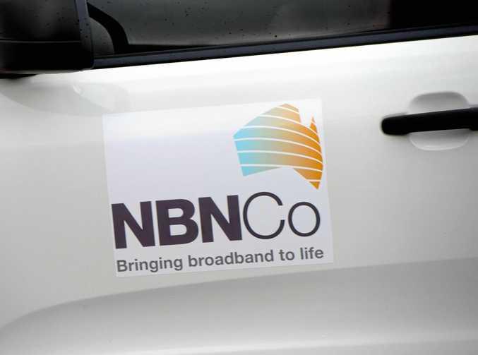 NBN truck.   Photo: Trevor Veale / The Coffs Coast Advocate
