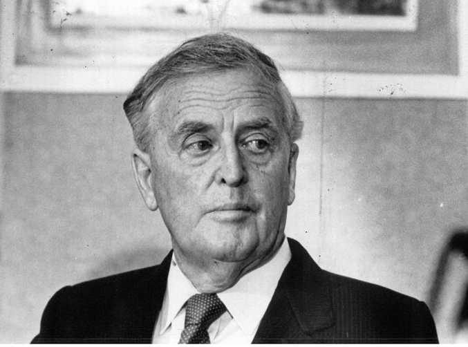 Joh Bjelke-Petersen, Premier of Queensland from August 8, 1968 to December 1, 1987. Photo taken in 1985-1986.