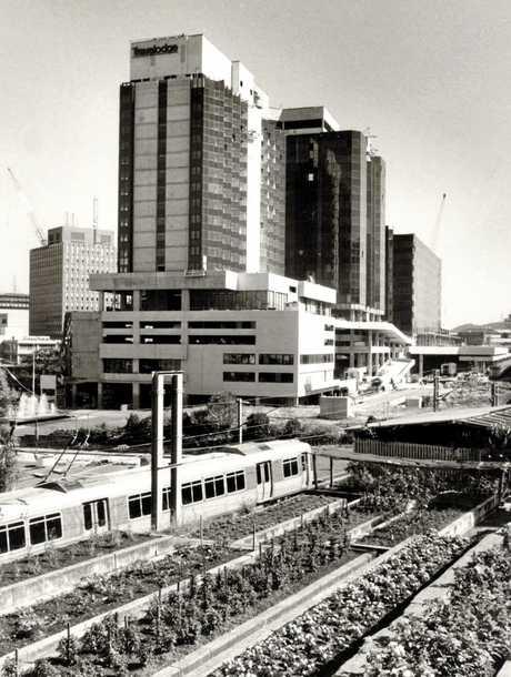 Roma Street Transit Centre, June 26, 1986.