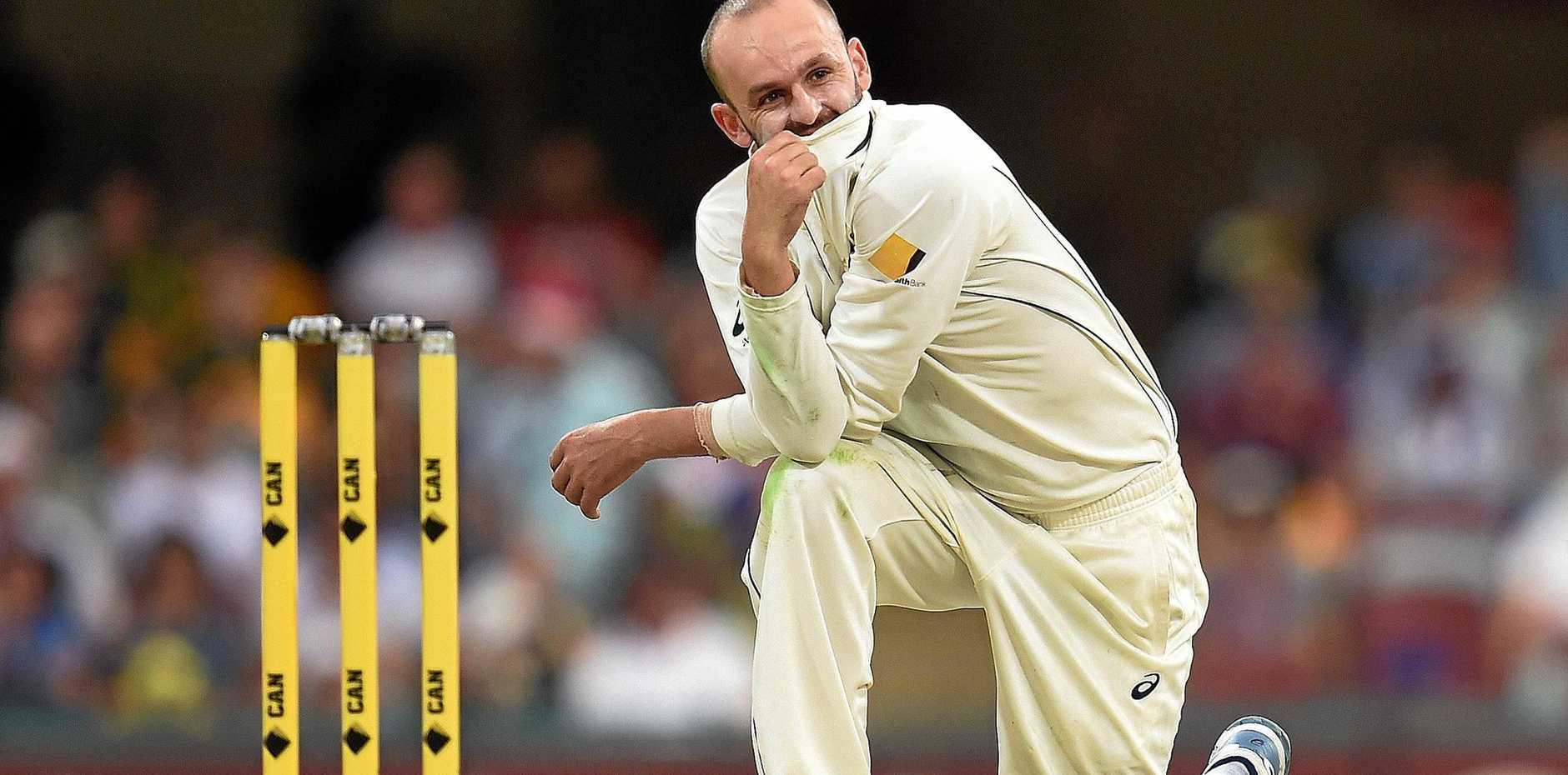 Australian off-spinner Nathan Lyon.