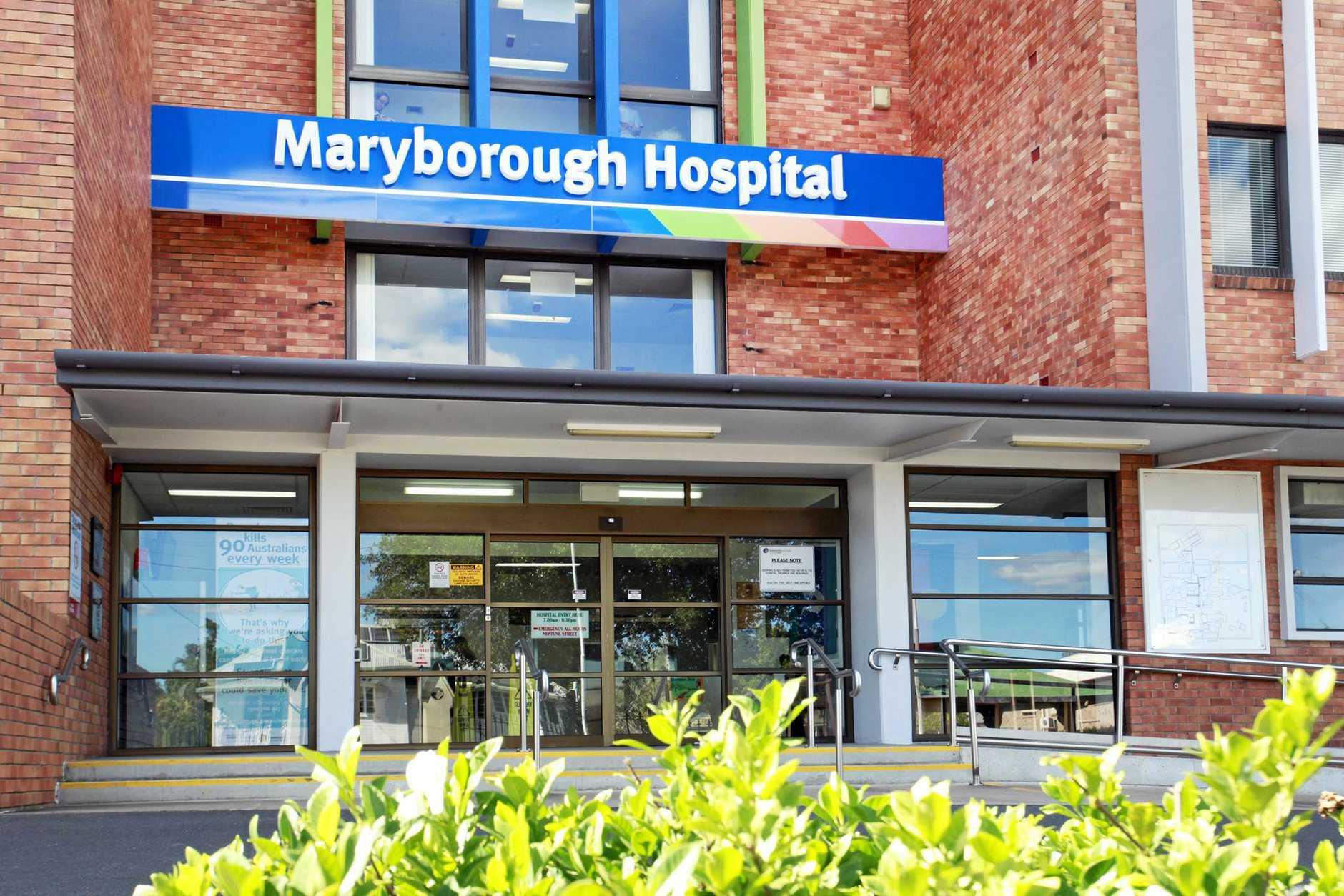 Maryborough Hospital. Photo: Jocelyn Watts / Fraser Coast Chronicle