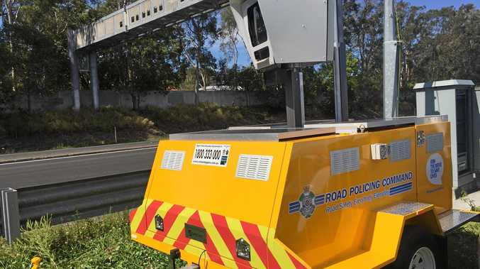The yellow trailers have started appearing on highways around Ipswich.
