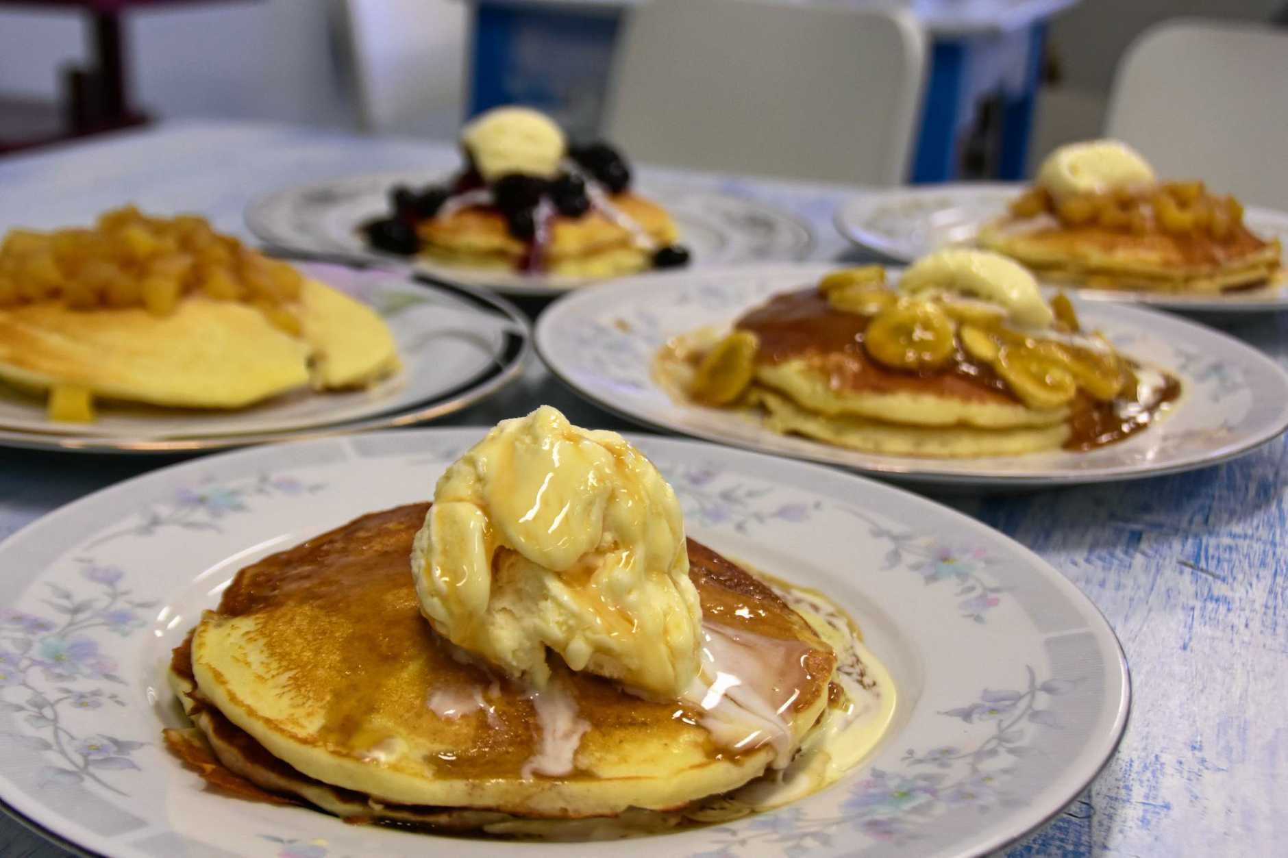 BREAKFAST: Try the pancakes at Take the Plunge.
