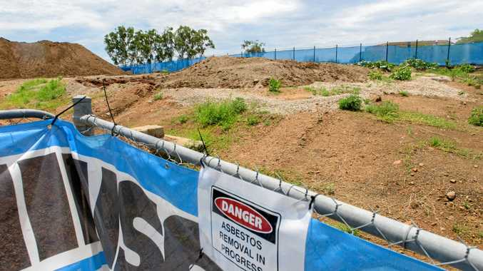 Tucks removing waste potentially carrying asbestos from the South Grafton super depot site are under investigation by NSW EPA