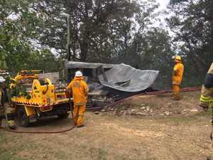 Fire breaks in Coast home, another destroys hinterland shed