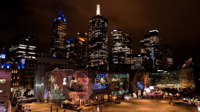 Federation Square in Melbourne was one of the targets of an alleged terror plot.