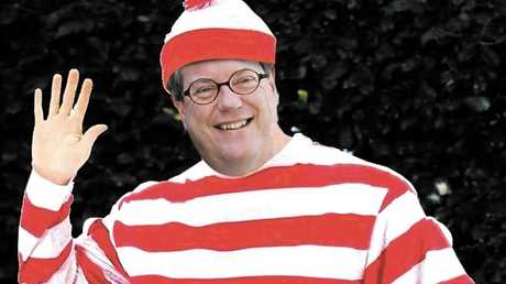 There are claims that spotting Tim Nicholls is akin to playing Where's Wally?