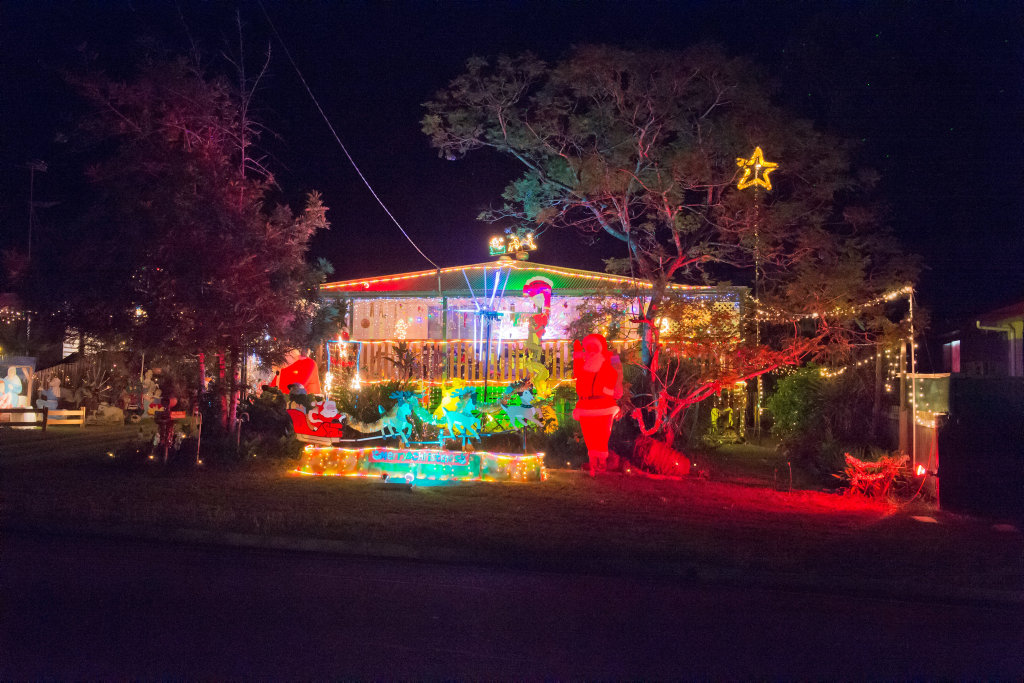 image for sale barramundi street toolooachristmas lights in gladstone