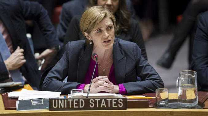 In a striking rupture with past practice, the United States allowed the U.N. Security Council on Friday to condemn Israel.
