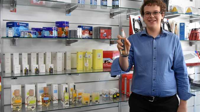 SWEET SMELL: Meet Zachery Viola at Warwick Computer Service.
