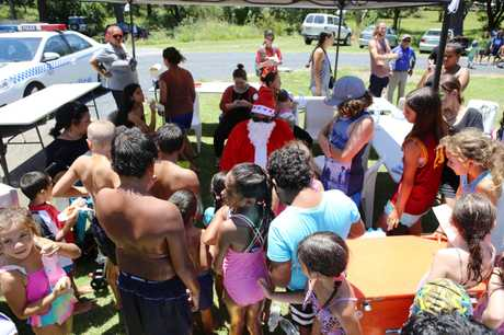 The Coffs Harbour Aboriginal Land Council has staged its first Christmas kids day.