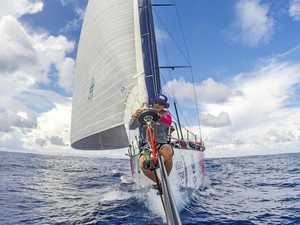 Coast sailor hopes weather gods will smile