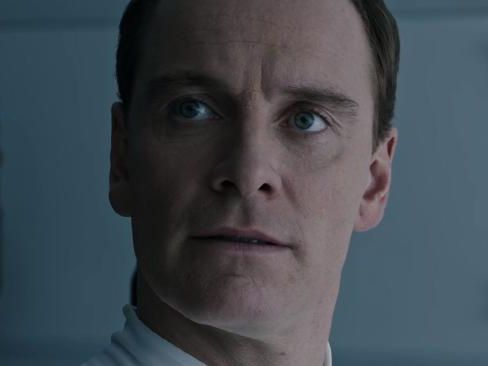 Michael Fassbender reprises his role as David.