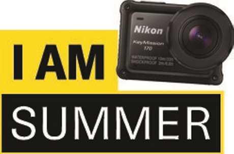 I am summer competition dinkus / logo.