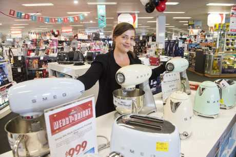 RECORD SALES: Harvey Norman Electrical franchisee Cara Sherman says the store has done record sales already, with more expected on Boxing Day. Saturday Dec 24, 2016.