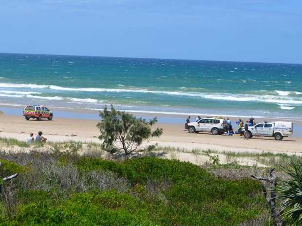 Emergency services responded to an incident at Wooli Beach where a man died on Monday, 26th December, 2016.