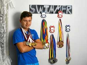Like the great Michael Phelps, Josh strikes gold