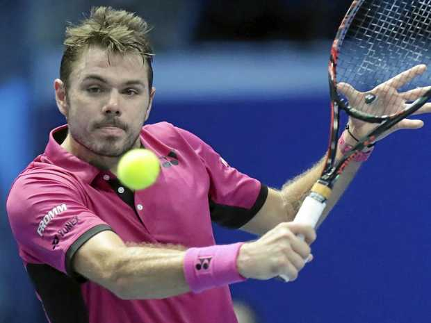 EARLY ARRIVAL: Stan Wawrinka is tipped to arrive in Australia on Tuesday.