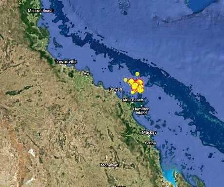 There's been 66 aftershocks recorded in the Bowen region since August's 5.8 magnitude earthquake.