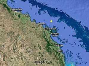 Christmas quake one of dozens of aftershocks off Bowen