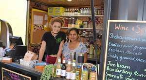 Laneway Cafe and Bar baristas Clare Gardner and Khushi Kaur.