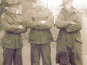 RATS OF TOBRUK: Noel followed in his father's footsteps