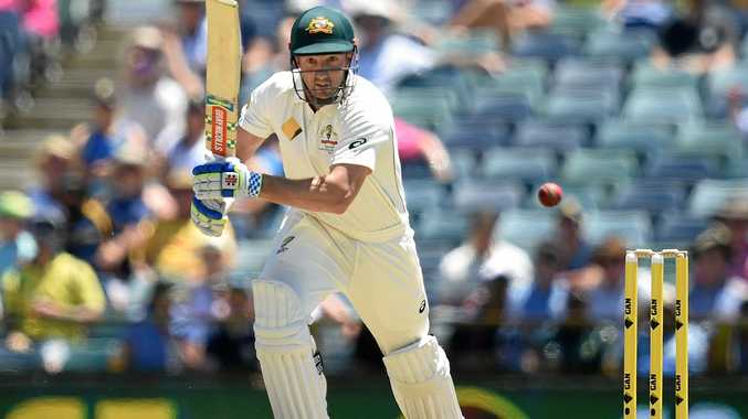 CHASING TEST SPOT: Shaun Marsh is over his hand injury.