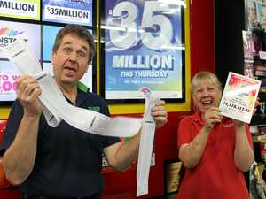 Lotto sales go gangbusters with $66m jackpot on the line