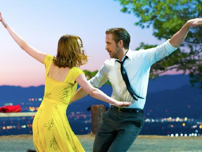 Emma Stone and Ryan Gosling please critics in La La Land.