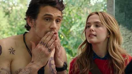 James Franco nails the role of a very unlikeable boyfriend.