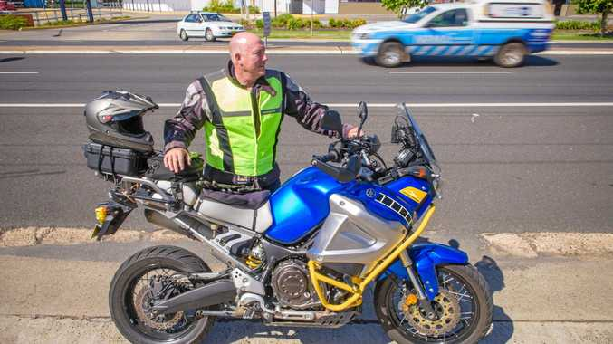 SAFETY FIRST: Steve Laylock - driving instructor talks about motorbike safety on the roads.