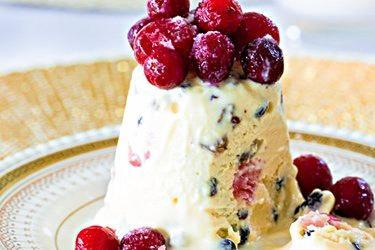Turn your Christmas pudding into pudding ice cream.