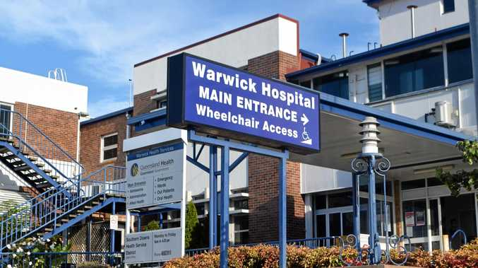 HIGH PRAISE: Warwick Hospital staff have been praised for their continued efforts and great work.