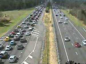 Gridlock: Bruce Highway turns into a carpark