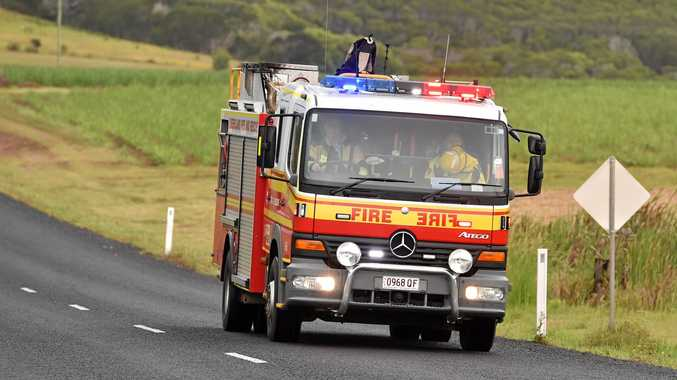 The Queensland Fire and Rescue was on scene.