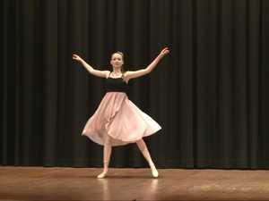 Maggie Bryan dances