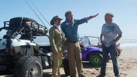 The Grand Tour starring Jeremy Clarkson, Richard Hammond and James May was popular.