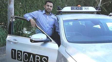 Jab Bajwa has been driving cabs in Sydney for eight years.
