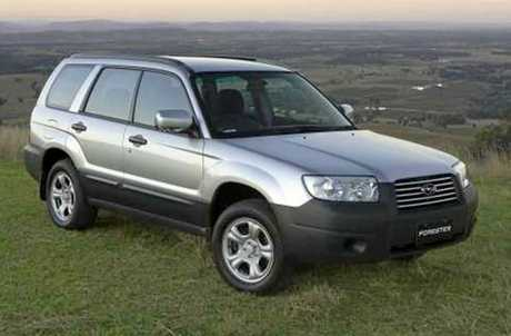 HAVE YOU SEEN IT? The car - a silver Subaru station wagon bearing NSW registration CB 76 QX - missing woman Ellen Wilson was believed to have been driving out of Ballina.