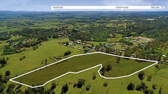 Huge lots up for sale as part of stage one of the Valley View Estate.