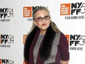 Star Wars fan pays tribute to Carrie Fisher