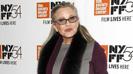Actress Carrie Fisher attends a special screening of, \