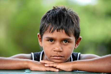 Eight year old Mundhra Williams of Coraki was left in the back of a paddy wagon for three hours on Wednesday.